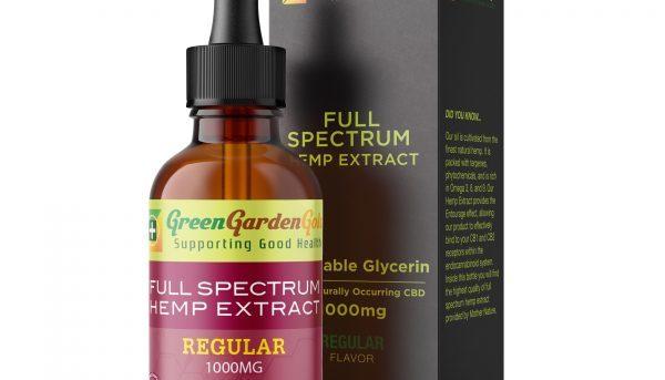Green Garden Gold Cbd Oil Review Cbd Oil Supplements